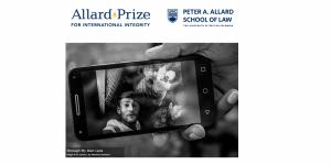 Le prix Allard pour l'intégrité internationale 2019