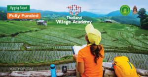 Thailand Village Academy 2019, entièrement financée (Gagnez une récompense totale de 10 000 USD)