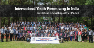 International Youth Forum 2019 on Peace, Social Justice  SDGs in India