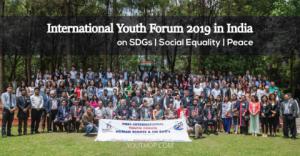 Forum international de la jeunesse 2019 sur la paix, la justice sociale et les ODD en Inde