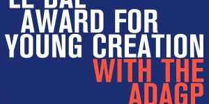 Prix Le Bal de la jeune création avec l'édition ADAGP