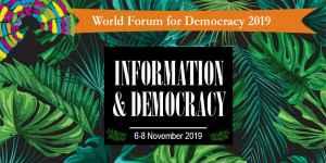 Appel à candidatures: Forum mondial de la démocratie 2019 - Délégation de la jeunesse