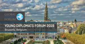 Forum des jeunes diplomates à Bruxelles édition 2019