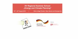"""XVème université d'été régionale """"Planification énergétique et climatique"""""""