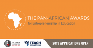 2019 Pan-African Awards for Entrepreneurship in Education