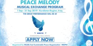 Programme Mélodie de la paix 2019