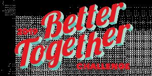 Better Together, défi 2019