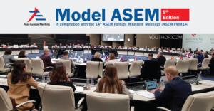 9th Model ASEM (Asia-Europe Meeting) 2019 in Madrid, Spain
