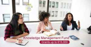 Fonds de gestion des connaissances 2019 (jusqu'à 15 000 € de subventions)