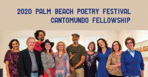 Bourses CantoMundo du Festival de poésie 2020 de Palm Beach