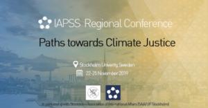 Appel à participations: Conférence régionale IAPSS 2019 en Suède