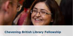 Bourse Chevening de la British Library