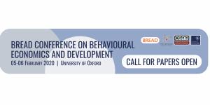 Conférence BREAD sur l'économie comportementale et le développement