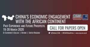 Call for Papers: Centre for the Study of African Economies (CSAE) Conference 2020 in UK