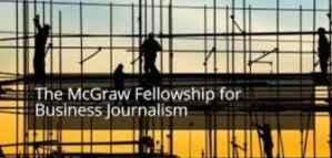 Bourses et subventions pouvant atteindre 15 000  pour les journalistes du McGraw Centre