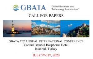 Istanbul, Turquie, 22e conférence internationale annuelle sur le thème Croissance et durabilité sur les marchés mondiaux: théorie, preuves et pratiques