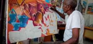 Opportunité de résidence pour les artistes de travaux légers et obtention d'un salaire de 5.000