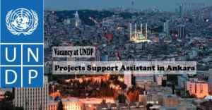 Vacancy at United Nations Development Programme (UNDP) in Ankara, Turkey