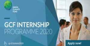 Green Climate Fund Internship Program 2020 in South Korea (Paid)