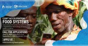 Miller Center's GSBI Food Systems Online Accelerator in Africa