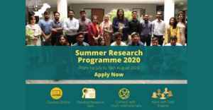 Youth Center for Virtual Summer Research Programme 2020
