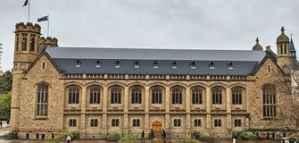 Bourses d'études partiellement financées par l'Université d'Adélaïde 2020