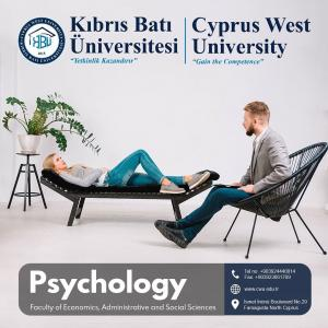 Bachelor degree in Psychology at Cyprus west university:
