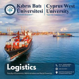 Bachelor degree in Logistics at Cyprus west university: