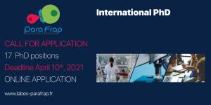 دعوة لتقديم طلبات الحصول على وظائف دكتوراه في المجالات العلمية بفرنسا 17 وظيفة: