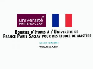 France University Paris Saclay International Scholarships For Postgraduate Studies