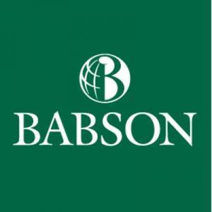 Un an de maîtrise en administration des affaires, Babson College, États-Unis