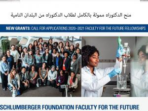 Schlumberger Foundation: Faculty for the Future Programme