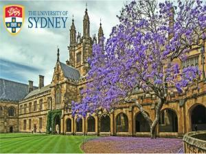 Gouvernance du système de santé - Bourse de recherche postdoctorale à l'Université de Sydney, NSW Australie