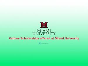 L'Université de Miami aux États-Unis offre des bourses d'études internationales aux étudiants
