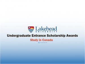 Bourses d'études d'entrée au premier cycle de l'Université Lakehead, Canada 2022-2023